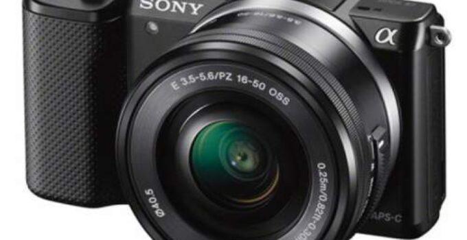 Sony A5000 Camera Settings