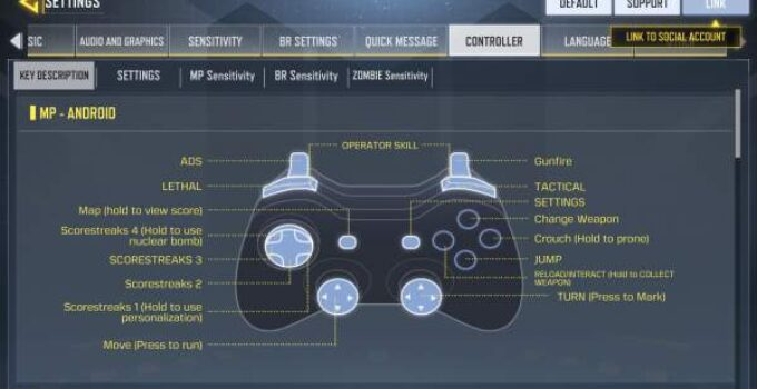 Best Call of Duty Controller Settings