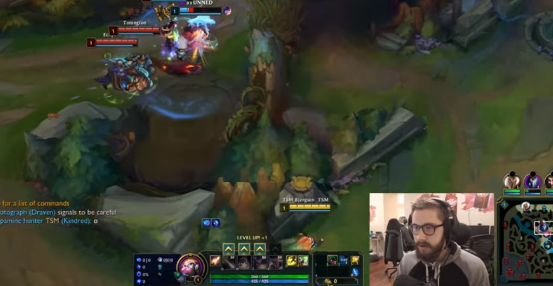 Bjergsen Mouse Settings