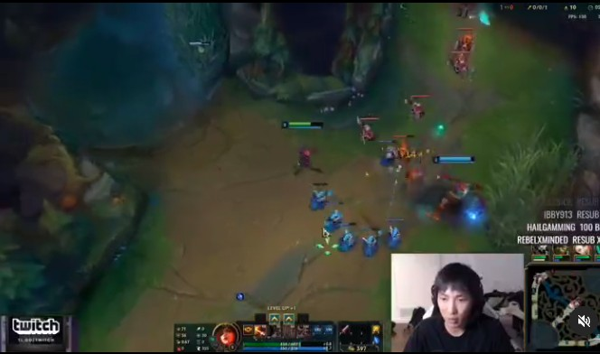 Doublelift Mouse Settings for LOL